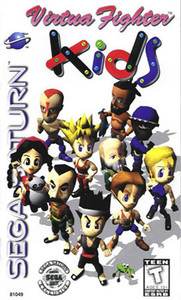 Virtua Fighter Kids - Saturn Game