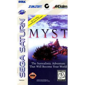 Myst - Saturn Game