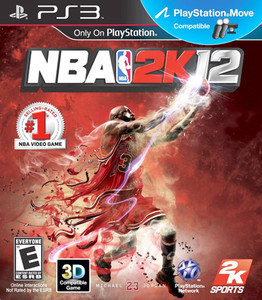 NBA 2k12 - PS3 Game