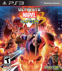 Ultimate Marvel vs Capcom 3 - PS3 Game