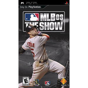 MLB 09 The Show - PSP Game
