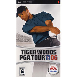 Tiger Woods PGA Tour 06 - PSP Game