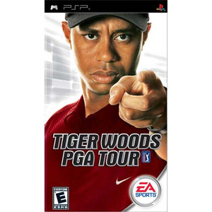 Tiger Woods PGA Tour - PSP Game