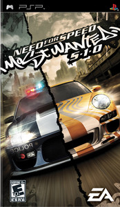 Need for Speed Most Wanted 5-1-0 - PSP Game
