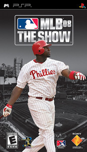 MLB 08 The Show - PSP Game