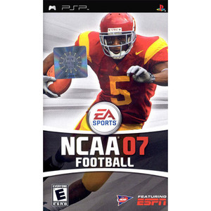 NCAA 07 Football - PSP Game