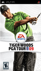 Tiger Woods PGA Tour 09 - PSP Game