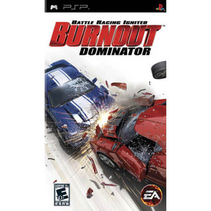 Burnout Dominator - PSP Game