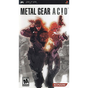 Metal Gear Acid - PSP Game
