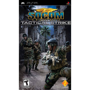 SOCOM US Navy Seals Tactical Strike - PSP Game