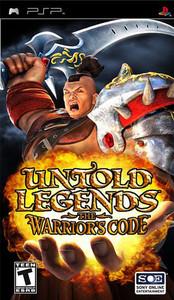 Untold Legends The Warrior's Code - PSP Game