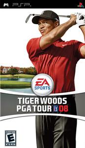 Tiger Woods PGA Tour 2008 - PSP Game