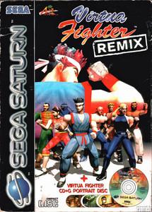Virtua Fighter Remix - Saturn Game