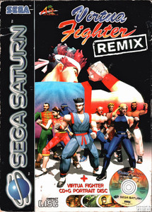 Virtua Fighter Remix - Saturn Game