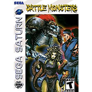 Battle Monsters - Saturn Game