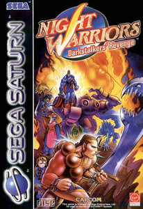 Night Warriors Darkstalkers' Revenge - Saturn Game