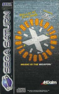 Revolution X - Saturn Game