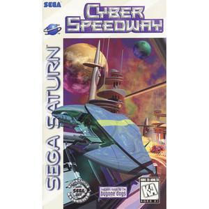 Cyber Speedway - Saturn Game