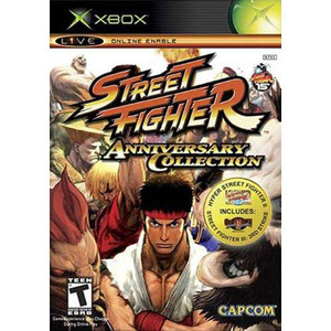 Street Fighter Anniversary - Xbox Game