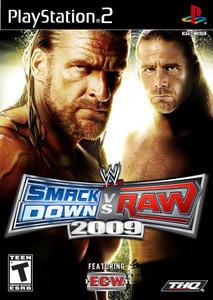 Smackdown vs Raw 2009 - PS2 Game