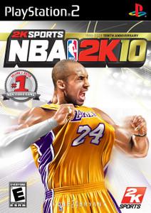 NBA 2K10 - PS2 Game