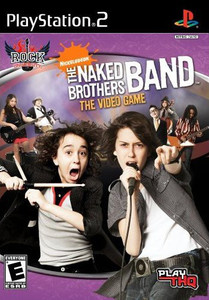Naked Brothers Band the Video Game, The - PS2 Game