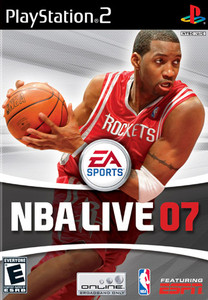 NBA Live 07 - PS2 Game