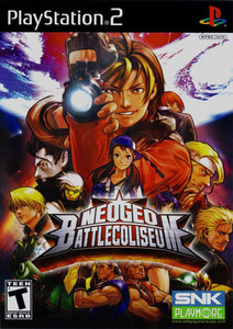 Neogeo Battle Coliseum - PS2 Game