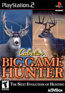 Cabela's Big Game Hunter - PS2 Game