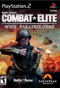 Combat Elite WWII Paratroopers - PS2 Game