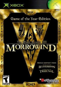 Elder Scrolls 3 III Morrowind Game of the Year Edition - Xbox Game