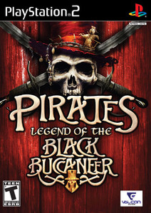 Pirates Legend of the Black Buccaneer - PS2 Game