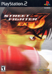 Street Fighter EX3 - PS2 Game