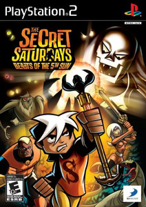 The Secret Saturdays: Beasts of The 5th Sun - PS2 Game