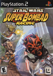 Star Wars Super Bombad Racing - PS2 Game