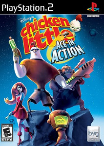 Chicken Little Ace In Action - PS2 Game