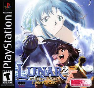 Lunar 2 Eternal Blue - PS1 Game