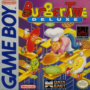 BurgerTime Deluxe - Game Boy Game