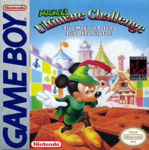 Mickey's Ultimate Challenge - Game Boy Game