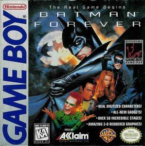 Batman Forever - Game Boy Game