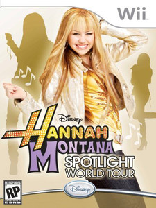 Hannah Montana Spotlight World Tour - Wii Game