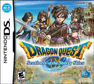 Dragon Quest IX (9) Sentinels of the Starry Skies - DS Game