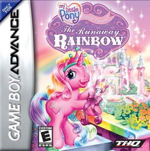 My Little Pony Runaway Rainbow - Game Boy Advance Game