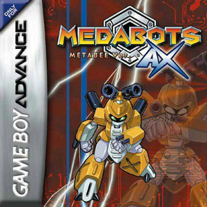 Medabots AX Metabee Version - Game Boy Advance Game