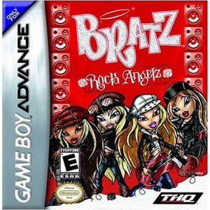 Bratz Rock Angelz - Game Boy Advance Game