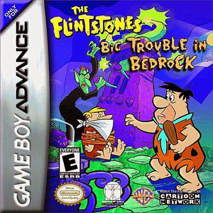 Flintstones Big Trouble in Bedrock - Game Boy Advance Game