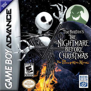 Nightmare Before Christmas The Pumpkin King, the - Game Boy Advance Game