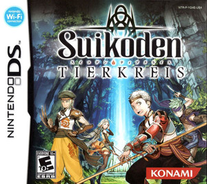 Suikoden Tierkreis - DS Game