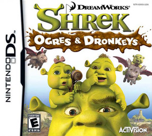 Shrek the Third Ogres and Donkeys
