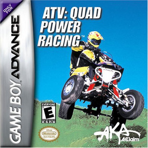 ATV: Quad Power Racing Game Boy Advance Game